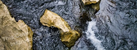 """Facebook Cover Image """"Turbulent Water"""""""