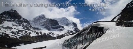 "Facebook Cover Image ""Icefields"""