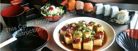 """Facebook Cover Image """"Japanese Food"""""""