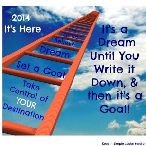 How To Set Social Media (Life) Goals for 2014