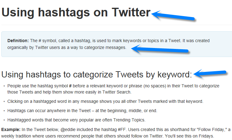What Is A Hashtag On Twitter Keep It Simple Social Media